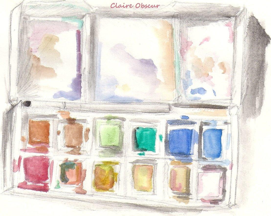 Claire obscur dessin traditionnel - Palette a dessin ...