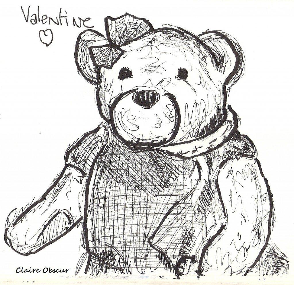 Valentine <3 dans Dessin