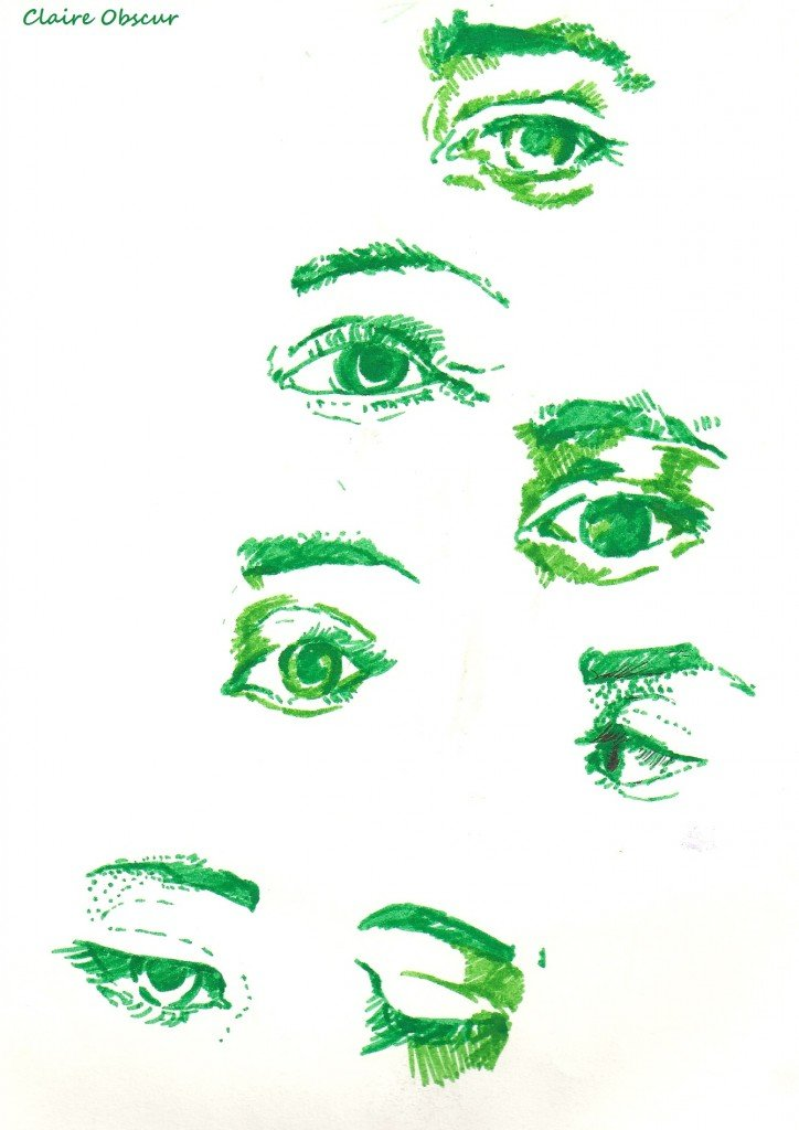 Green Eyes dans Dessin